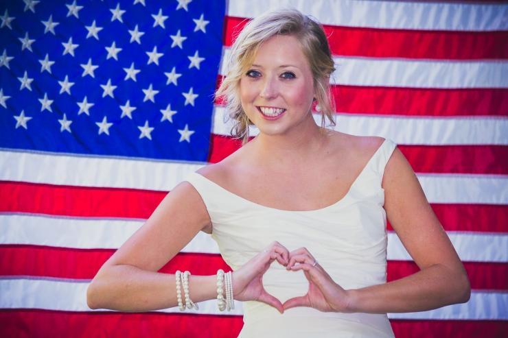 American-Patriotic-Bridal-Portrait